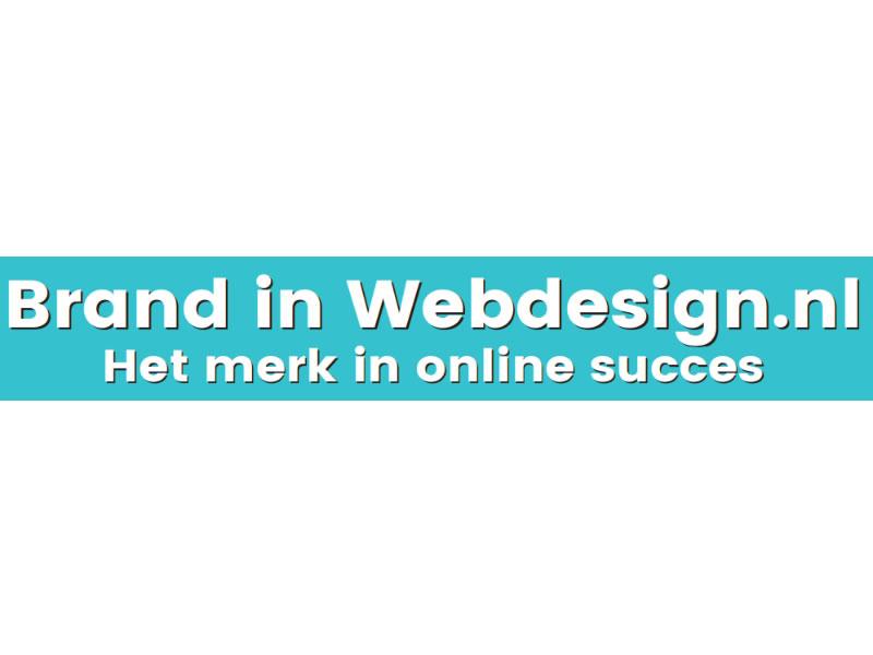 Webdesign, uw website gemaakt bij Brand in Webdesign