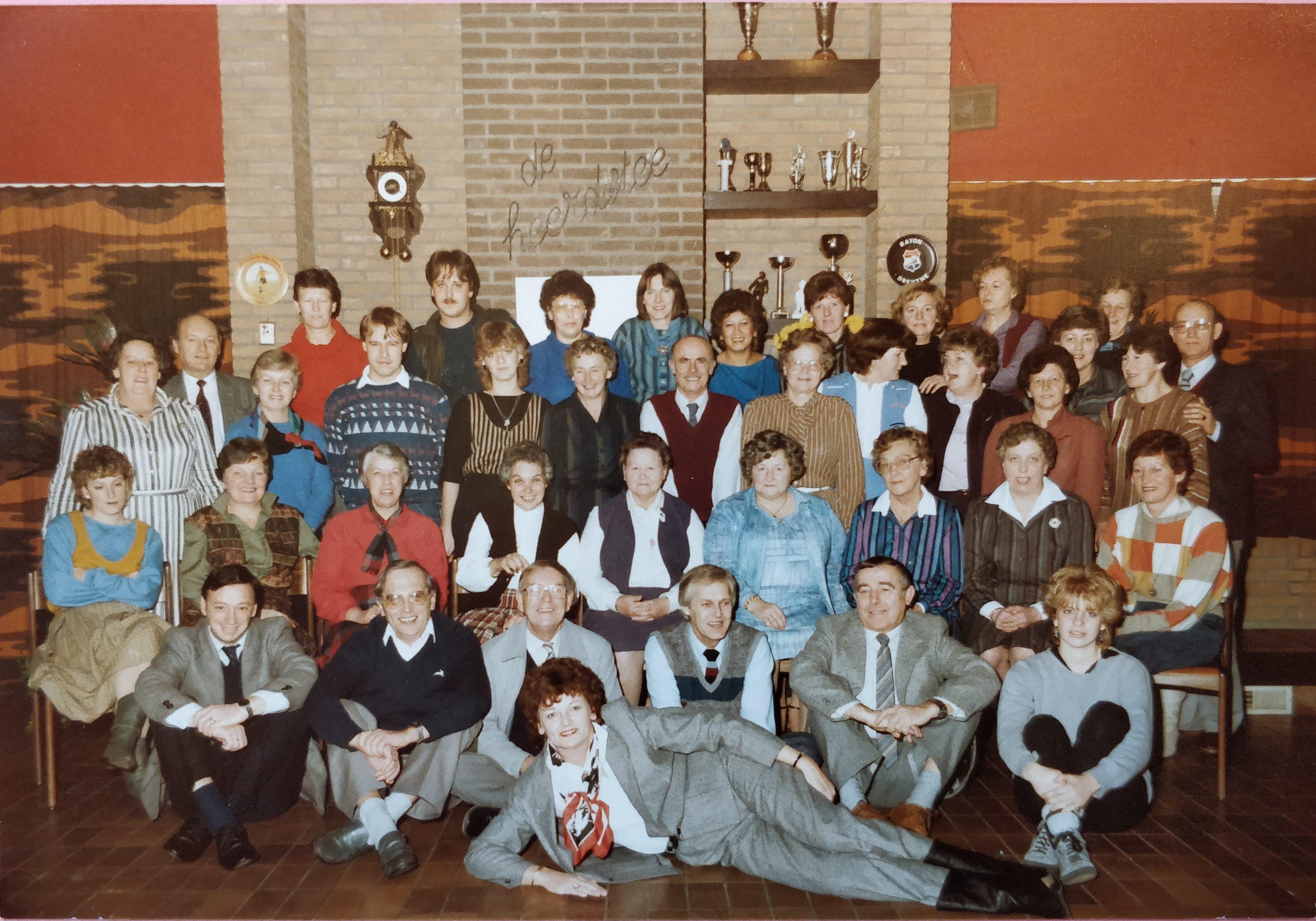 Kantinevrijwilligers Achilles1894-1984