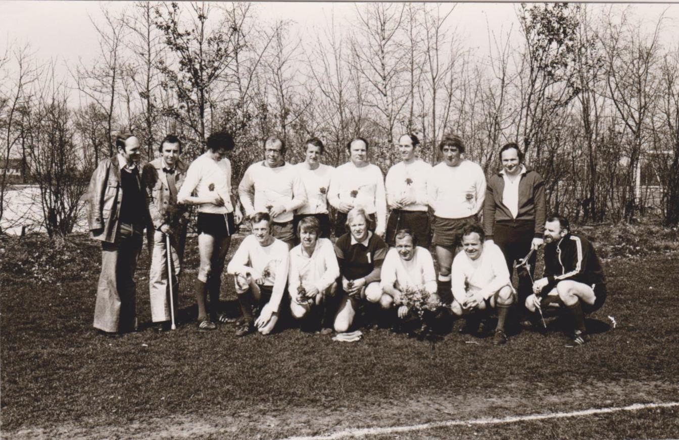Lerarenteam Achilles 8 kampioen 1982